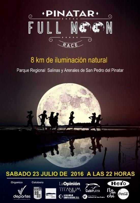 Pinatar Full Moon Race celebra su tercera edición a la luz de la luna